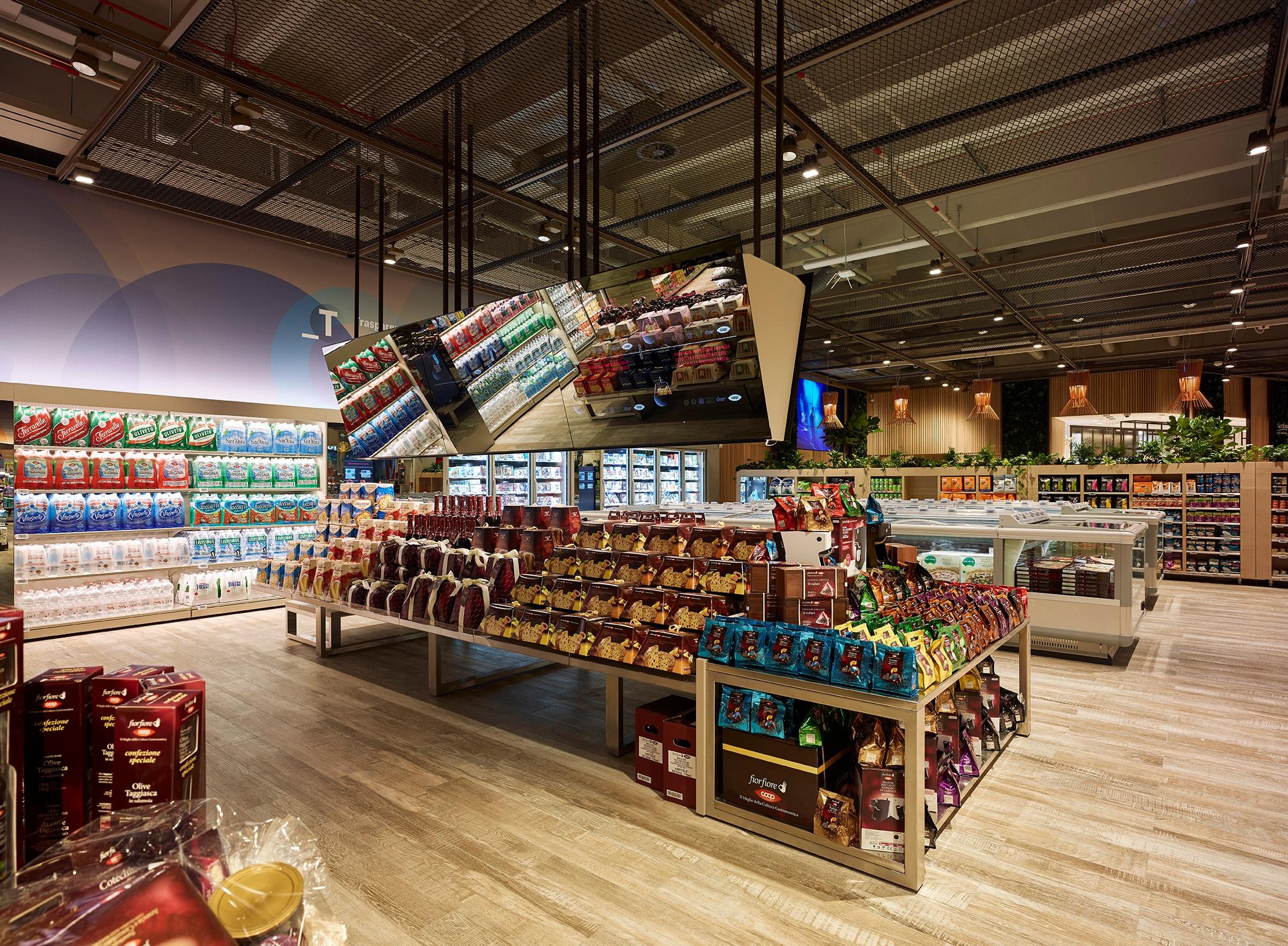A Milano il supermercato del futuro
