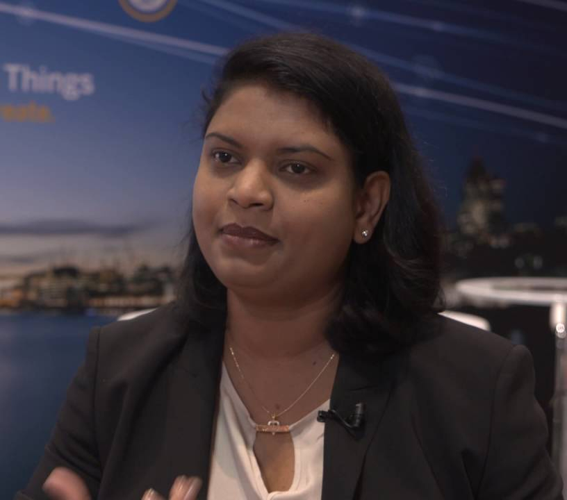 Nayaki Nayyar, General Manager e Global Head of IoT and Innovation GTM di SAP