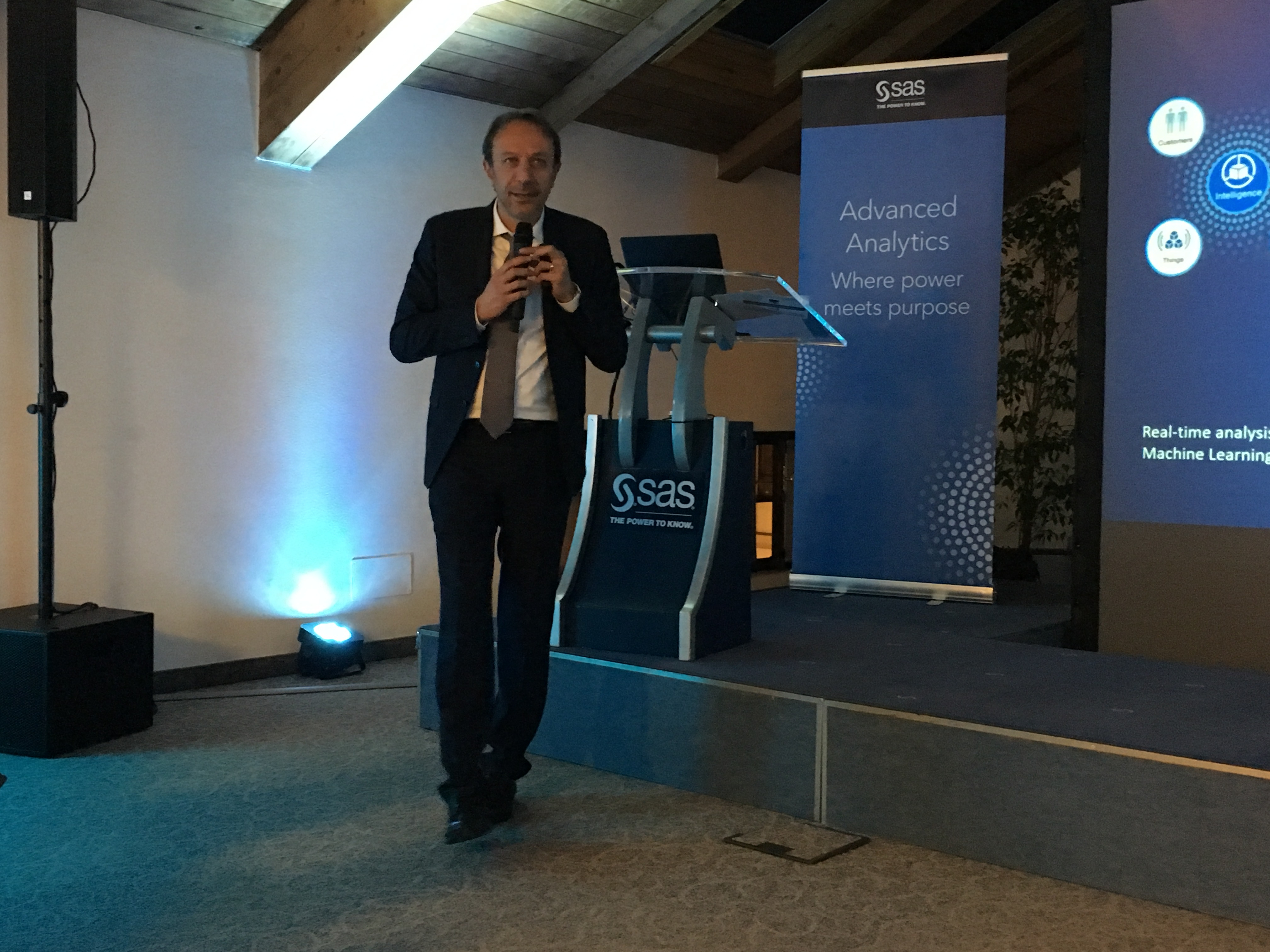 Angelo Tenconi, Analytics & Technology Director di SAS