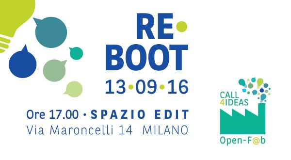 Re Boot 13 settembre 2016
