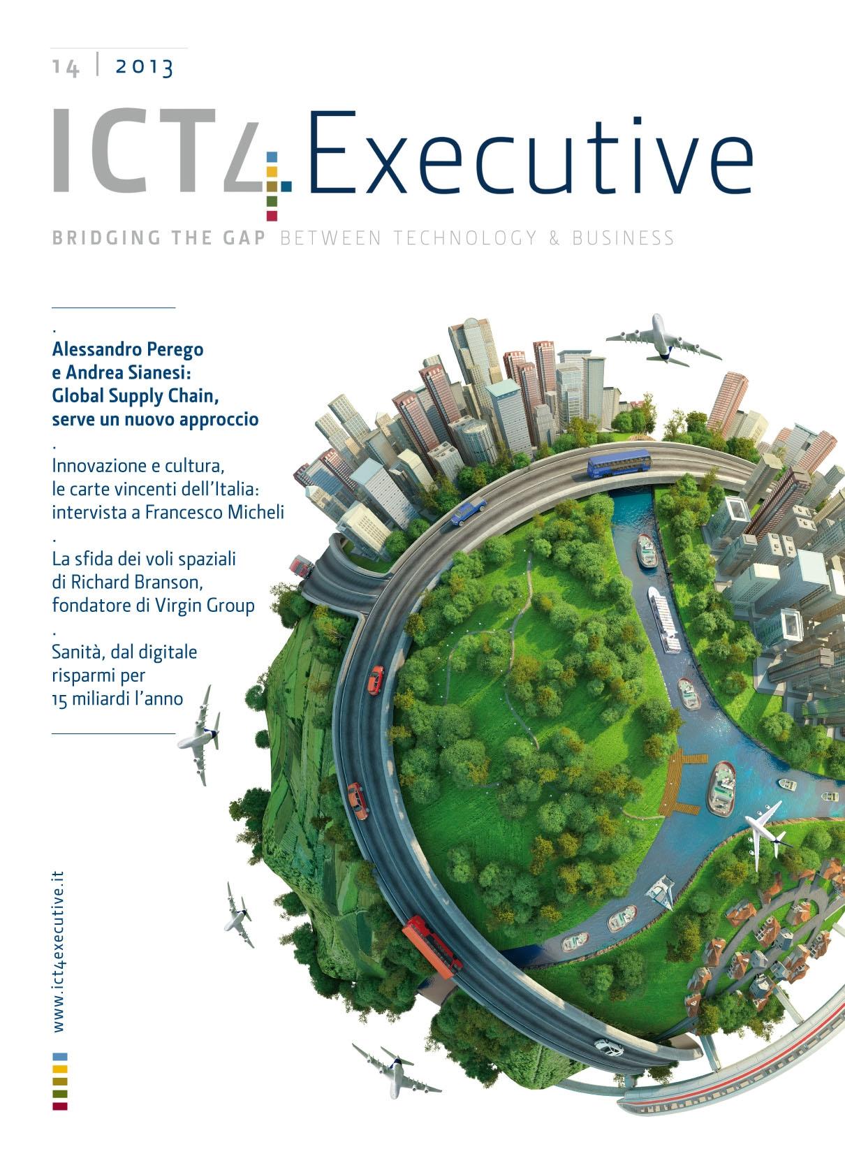 3252b775e93c ICT4executive n.14 - Alessandro Perego e Andrea Sianesi: Global Supply  Chain, serve un nuovo approccio - Digital4