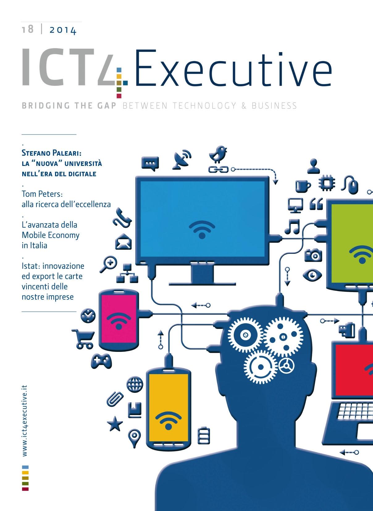 """da6c336fa1 ICT4executive n.18 - Stefano Paleari: la """"nuova"""" università nell'era del  digitale - Digital4"""