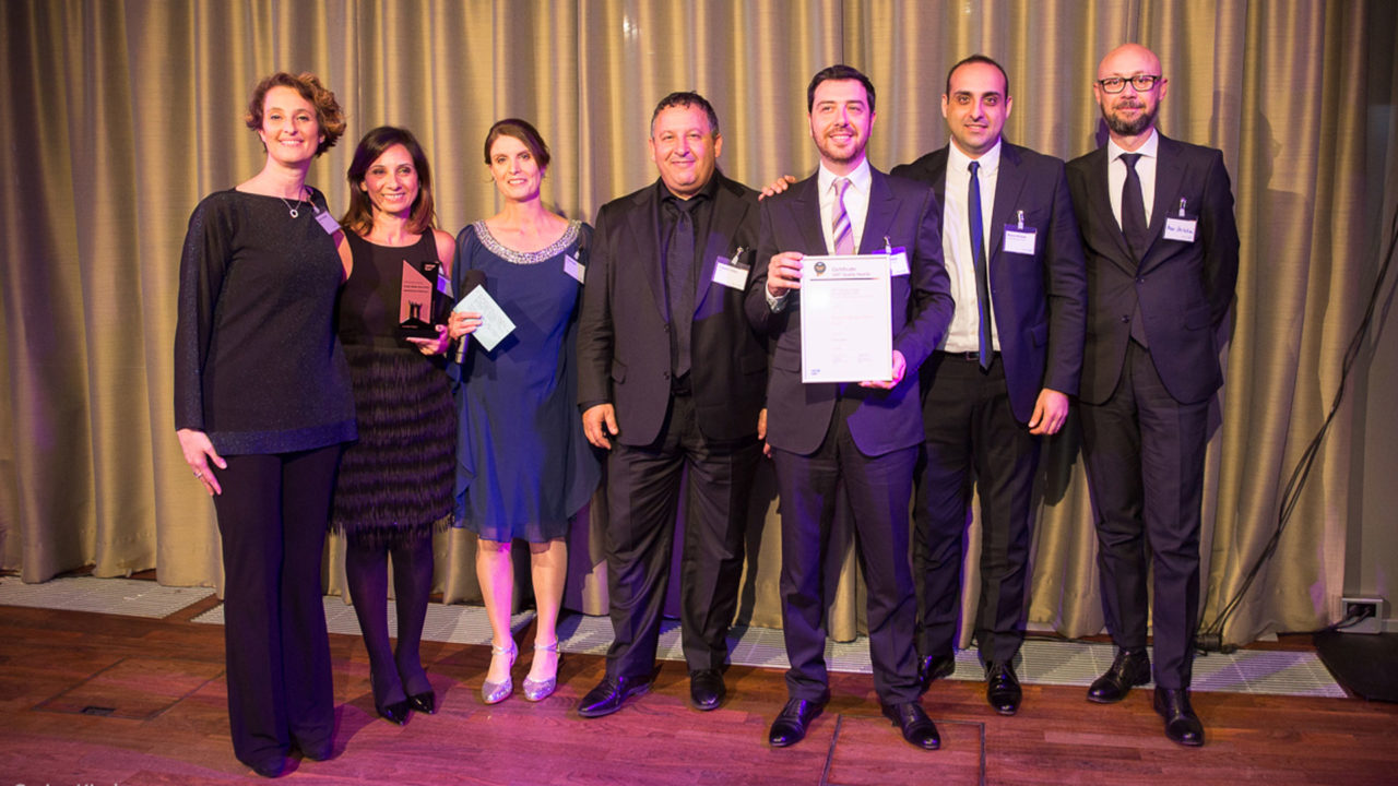 Autostrade per l'Italia credit management Telepass SAP Quality Award