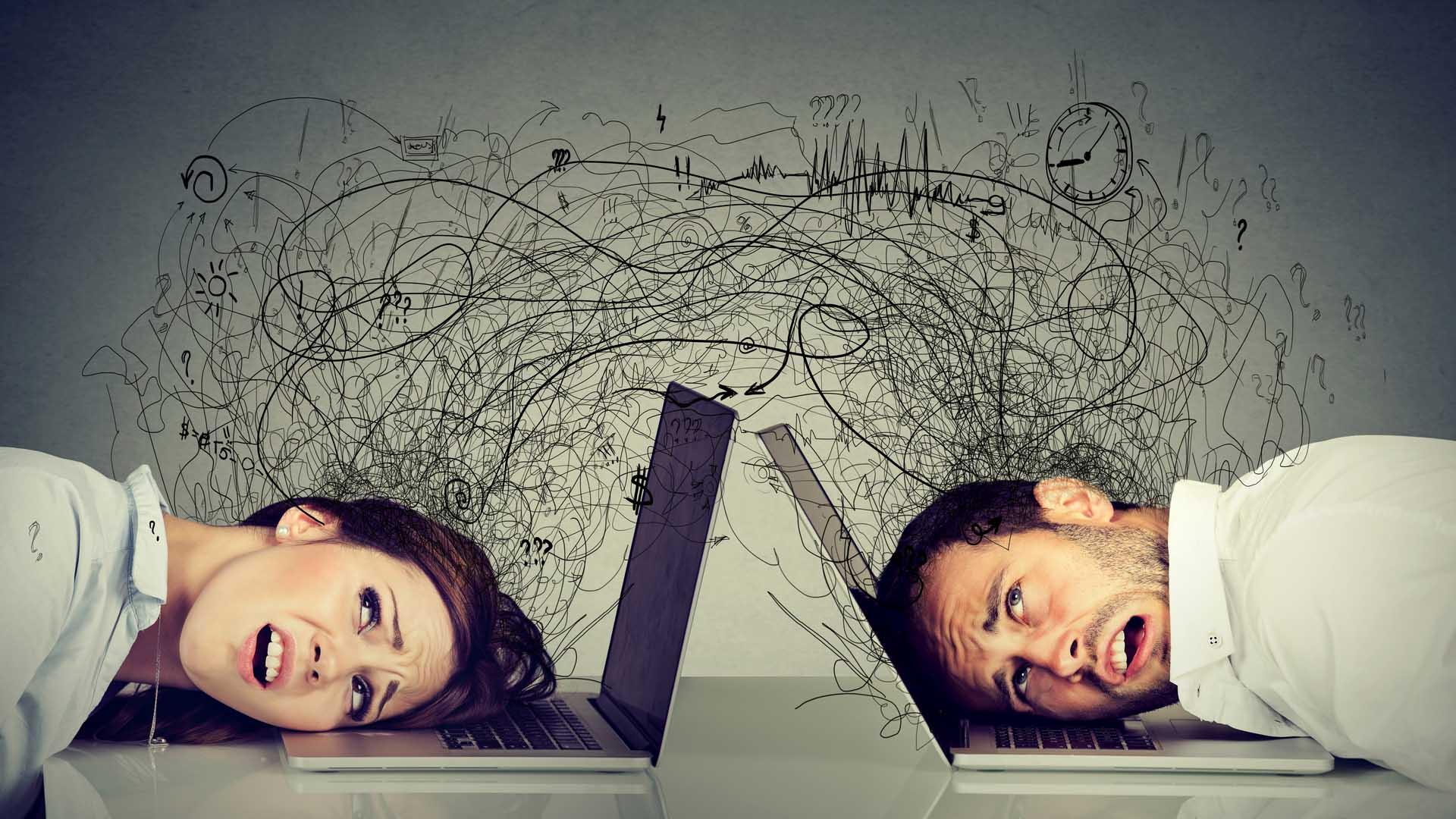 Il technostress cresce col remote working: troppe informazioni da gestire